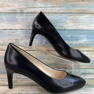 Cole Haan Grand OS Black Leather Pumps